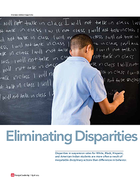 Eliminating Disparities magazine cover
