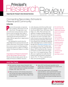 Principal's Research Review, January 2013 cover