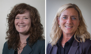 Dr. Danette Parsley, Education Northwest's new Chief Program Officer and Ms. Joy Bell, Education Northwest's new Chief Operating Officer