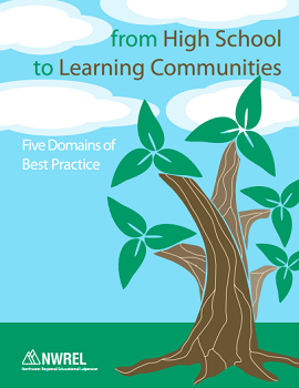 From High School to Learning Communities pamphlet cover