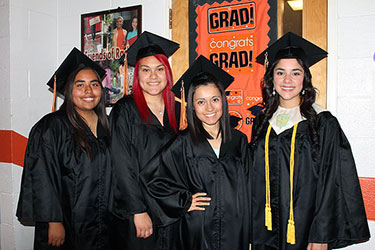 photo of recent graduates from Glenns Ferry High School