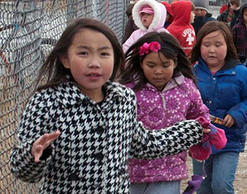 Students from Alaska's Lower Kuskokwim School District