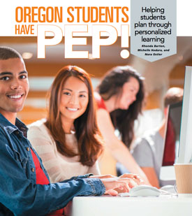 Oregon Students Have PEP! cover graphic