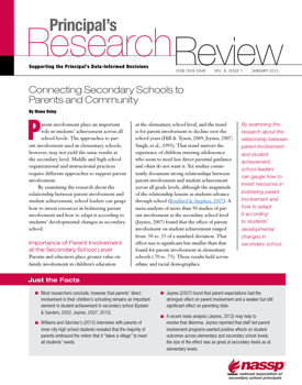 Principal's Research Review cover