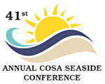 41st Annual COSA Seaside Conference logo