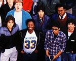Photo of 80s students