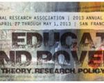 American Educational Research Association annual conference program cover