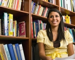 Photo of a student in library