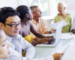 Photo of education researchers
