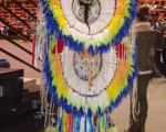 Traditional dancer at NIEA Pow Wow