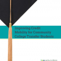 Cover of Improving Credit Mobility for Community College Transfer Students.