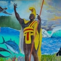 Hawaiian mural painting